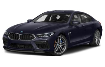 2021 BMW M8 Gran Coupe - Macao Blue