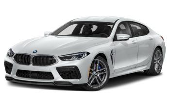 2021 BMW M8 Gran Coupe - Frozen Brilliant White