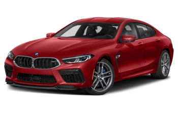 2021 BMW M8 Gran Coupe - Imola Red II