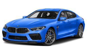 2021 BMW M8 Gran Coupe - Santorini Blue II