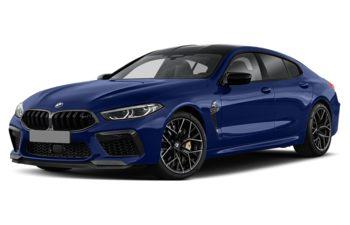 2020 BMW M8 Gran Coupe - Marina Bay Blue Metallic