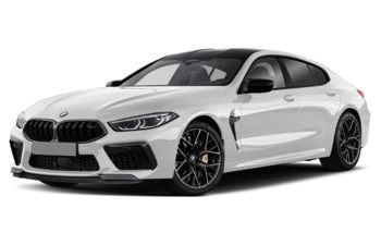 2020 BMW M8 Gran Coupe - Brilliant White Metallic
