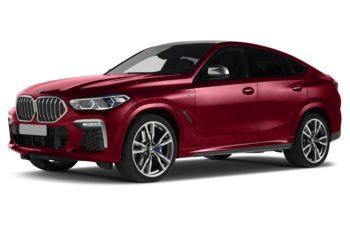2020 BMW X6 - Flamenco Red Metallic
