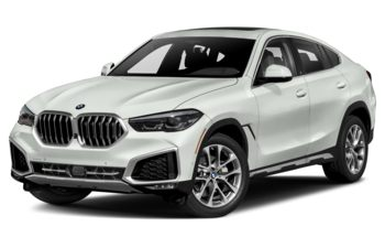 2021 BMW X6 - Alpine White