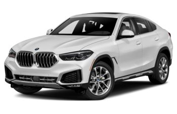 2021 BMW X6 - Mineral White Metallic