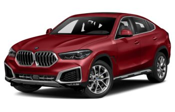 2021 BMW X6 - Flamenco Red Metallic