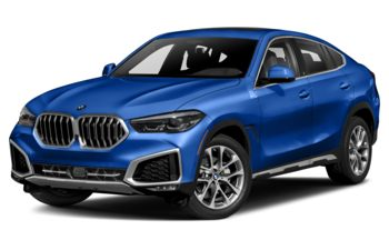 2020 BMW X6 - Riverside Blue Metallic