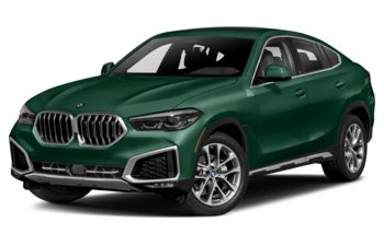 2021 BMW X6 - British Racing Green