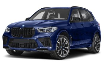 2021 BMW X5 M - Marina Bay Blue Metallic