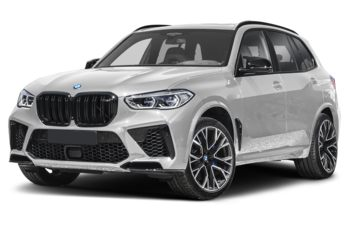 2021 BMW X5 M - Mineral White Metallic