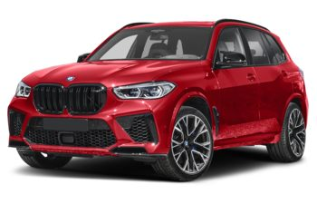 2021 BMW X5 M - Toronto Red Metallic