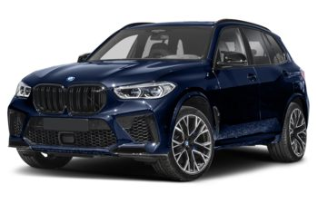 2021 BMW X5 M - Tanzanite Blue Metallic
