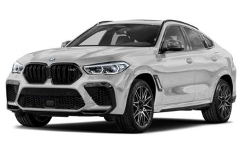 2020 BMW X6 M - Mineral White Metallic