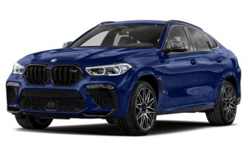 2020 BMW X6 M - Marina Bay Blue Metallic