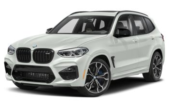 2020 BMW X3 M - Alpine White