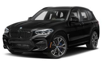 2020 BMW X3 M - Black Sapphire Metallic