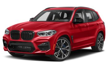 2020 BMW X3 M - Toronto Red Metallic