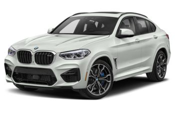 2020 BMW X4 M - Alpine White