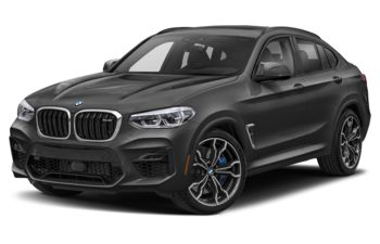 2021 BMW X4 M - Dark Graphite Metallic