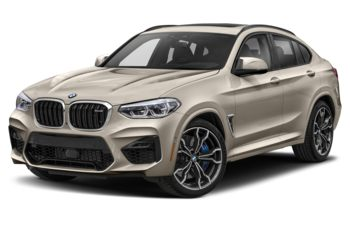 2021 BMW X4 M - Sunstone Metallic