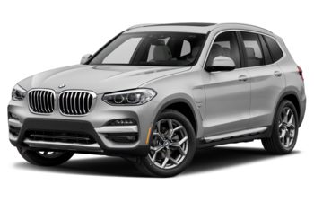 2021 BMW X3 PHEV - Mineral White Metallic