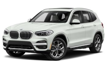2021 BMW X3 PHEV - Alpine White