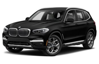 2021 BMW X3 PHEV - Jet Black Non-Metallic