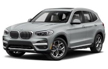 2021 BMW X3 PHEV - Glacier Silver Metallic