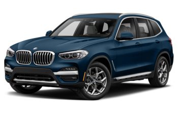 2021 BMW X3 PHEV - Phytonic Blue Metallic