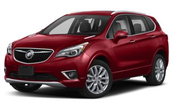 2020 Buick Envision - Chili Red Metallic