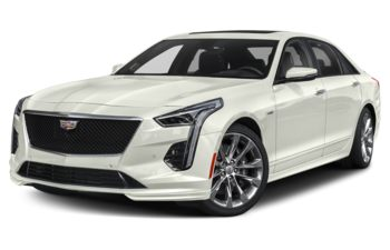 2020 Cadillac CT6-V - Crystal White Tricoat
