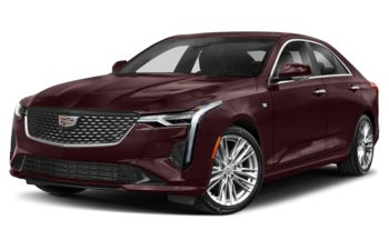 2021 Cadillac CT4 - Garnet Metallic