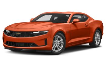 2022 Chevrolet Camaro - Vivid Orange Metallic
