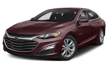 2021 Chevrolet Malibu - Black Cherry Metallic