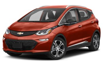 2021 Chevrolet Bolt EV - Cayenne Orange Metallic