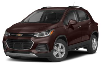 2021 Chevrolet Trax - Black Cherry Metallic