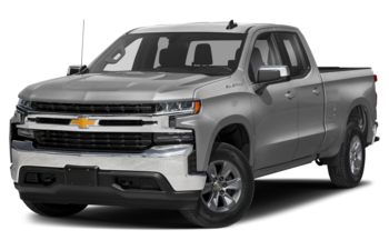 2021 Chevrolet Silverado 1500 - Silver Ice Metallic