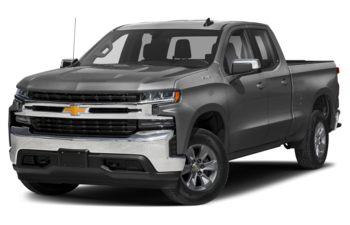 2021 Chevrolet Silverado 1500 - Satin Steel Metallic