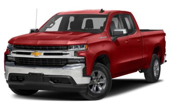 2021 Chevrolet Silverado 1500 - Cherry Red Tintcoat