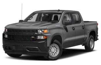 2021 Chevrolet Silverado 1500 - Satin Steel Metallic