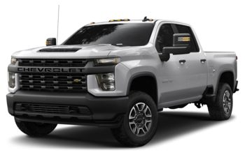 2020 Chevrolet Silverado 2500HD - Silver Ice Metallic