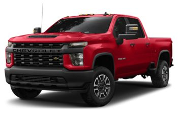 2020 Chevrolet Silverado 2500HD - Red Hot
