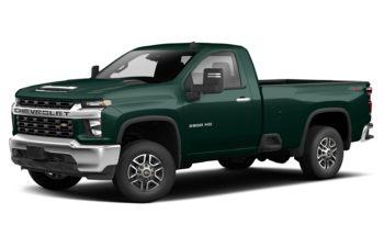 2020 Chevrolet Silverado 3500HD - Woodland Green