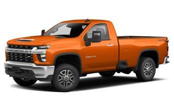 2020 Chevrolet Silverado 3500HD - Tangier Orange