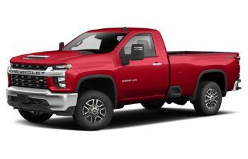 2020 Chevrolet Silverado 2500HD - Red Hot