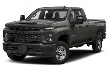2022 Chevrolet Silverado 2500HD - Greenstone Metallic