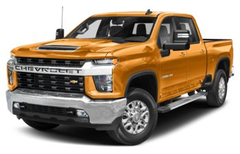 2020 Chevrolet Silverado 2500HD - Wheatland Yellow