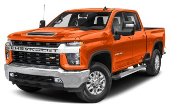 2020 Chevrolet Silverado 2500HD - Tangier Orange