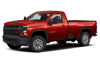 2021 Chevrolet Silverado 3500HD - Red Hot