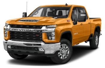 2020 Chevrolet Silverado 3500HD - Wheatland Yellow
